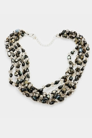 Embellish Glass Beaded Necklace - Front full body