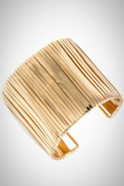 Embellish Gold Cuff Bracelet - Product Mini Image