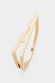 Embellish Stackable Initial Ring - Product Mini Image