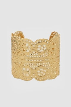 Embellish Gold Lace Cuff - Product List Image