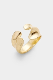 Embellish Gold Wave Ring - Product Mini Image