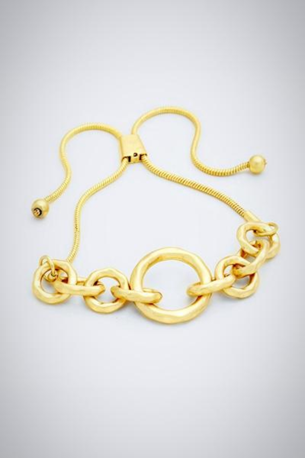 Embellish Golden Link Bracelet - Main Image
