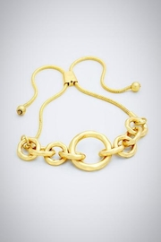 Embellish Golden Link Bracelet - Product Mini Image