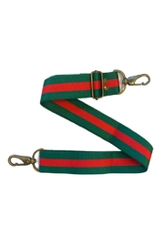 Embellish Green And Red Stripe Bag Guitar Strap - Product Mini Image