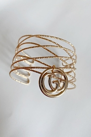 Embellish Gucci Charm Cuff - Front cropped