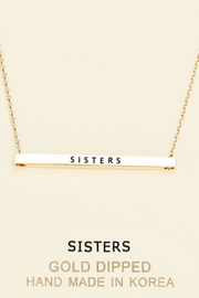 Embellish Inspirational Sisters Necklace - Front cropped