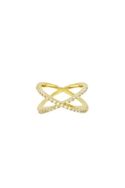 Embellish X Crystal Ring - Product Mini Image