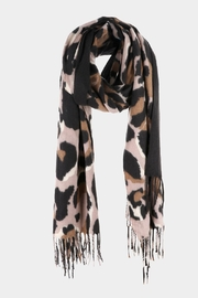 Embellish Large Leopard Pattern Scarf - Product Mini Image