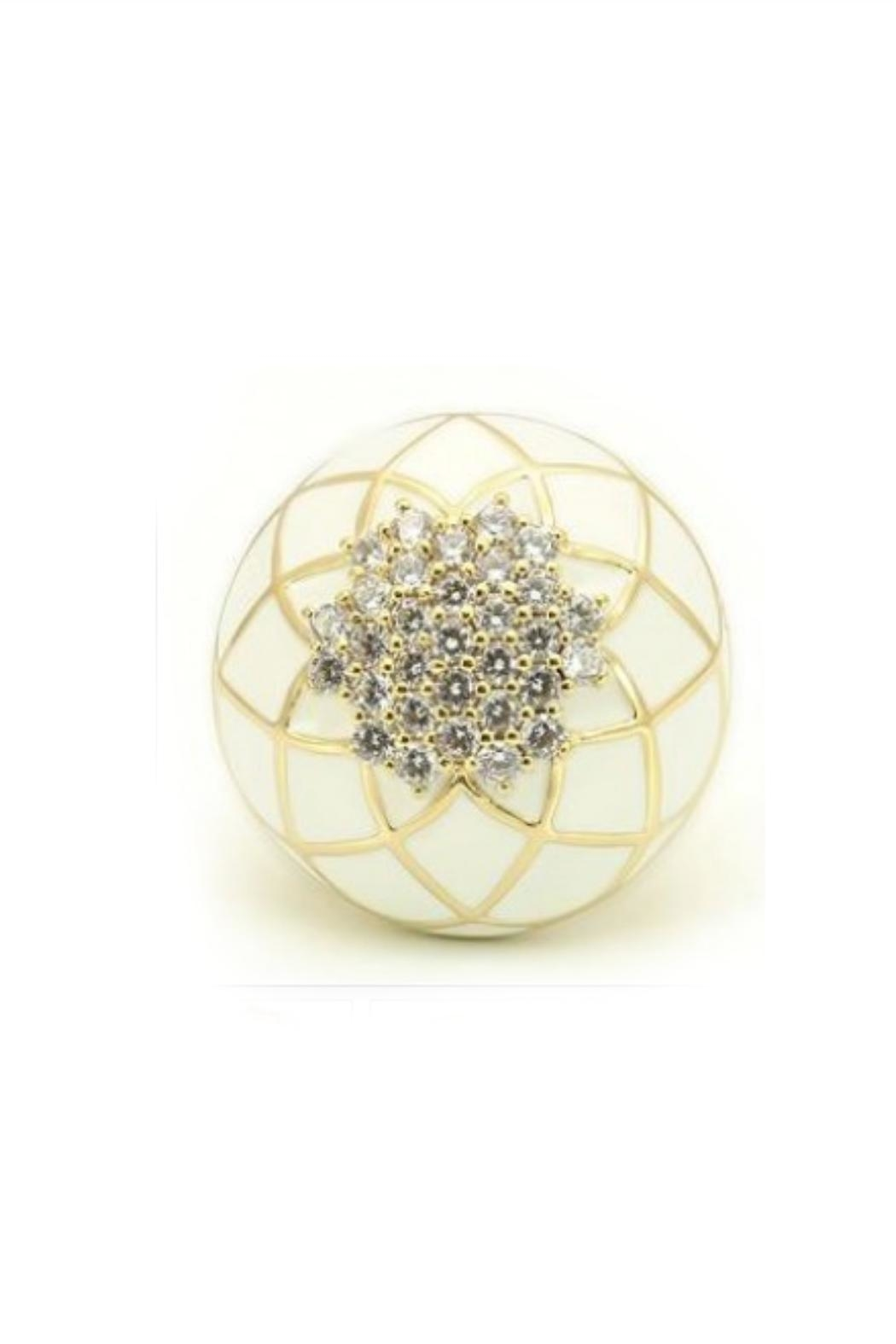 Embellish Lattice Crystal Ring - Main Image
