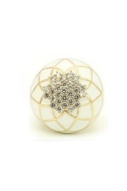 Embellish Lattice Crystal Ring - Product Mini Image