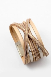 Embellish Leather Magnetic Bracelet - Product Mini Image
