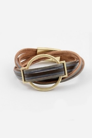 Embellish Leather Wrap Bracelet - Product Mini Image