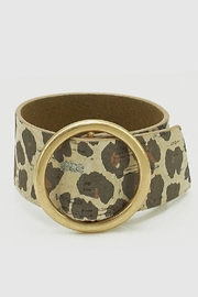 Embellish Leopard Cork Bracelet - Product Mini Image