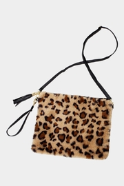 Embellish Leopard Fur Bag - Product Mini Image