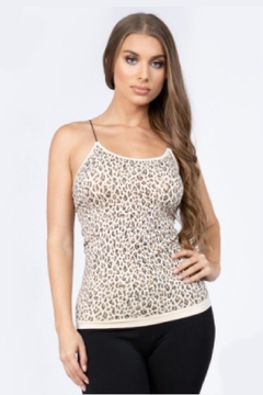 Embellish Leopard Tank Top - Product List Image