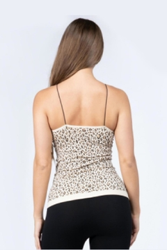 Embellish Leopard Tank Top - Alternate List Image