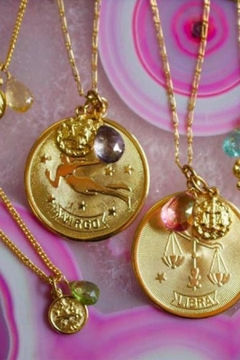 Shoptiques Product: Libra Zodiac Necklace