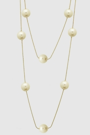 Embellish Long Pearl Necklace - Front cropped