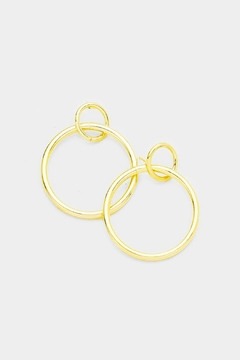 Shoptiques Product: Loopy Hoop Earrings