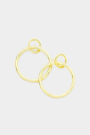 Embellish Loopy Hoop Earrings - Product Mini Image