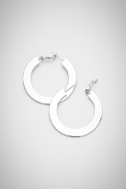 Embellish Modern Hoop Earrings - Product Mini Image