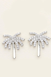 Embellish Palm Tree Earrings - Front cropped