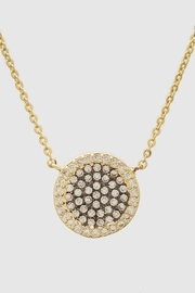 Embellish Pave Round Necklace - Product Mini Image