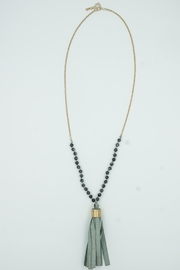 Embellish Tassle Necklace - Product Mini Image