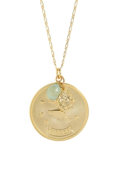 Shoptiques Product: Pisces Zodiac Necklace