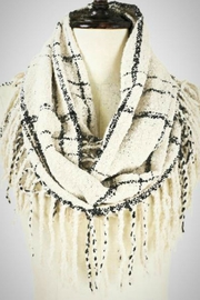 Embellish Plaid Infinity Scarf - Product Mini Image