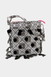 Embellish Pom Cross Body Bag - Product Mini Image