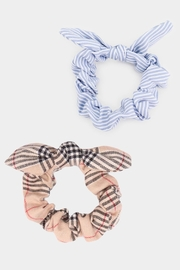 Embellish Scruchies Stripe Plaid - Product Mini Image