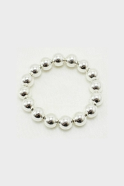 Embellish Silver Ball Bracelet - Product Mini Image
