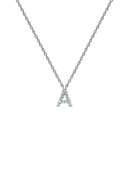 Embellish Silver Initial Necklace - Product Mini Image