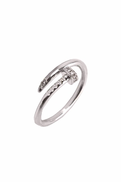Shoptiques Product: Silver Nail Ring