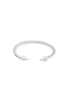 Embellish Silver Open Cuff Bracelet - Product List Image