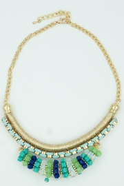 Embellish Turquoise Statement Necklace - Product Mini Image