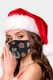 Embellish Snowman Christmas Mask - Product Mini Image
