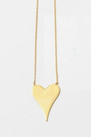 Embellish Sterling Heart Necklace - Product Mini Image