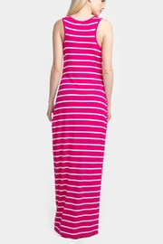 Embellish Striped Maxi Dress - Front full body