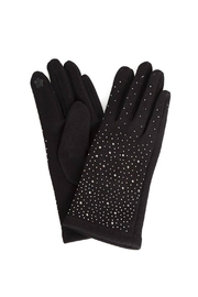 Embellish Studded Texting Gloves - Front cropped