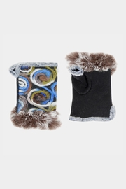 Embellish Swirl Fingerless Gloves - Product Mini Image
