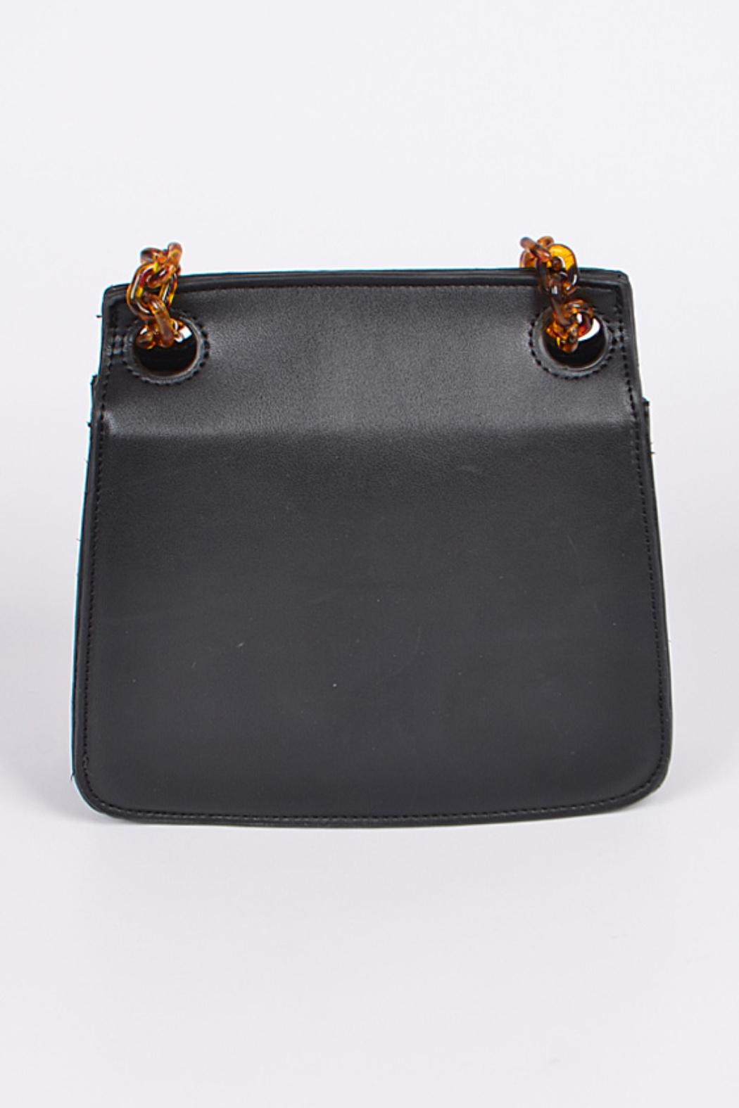 Embellish Tortoise Chain Bag - Side Cropped Image