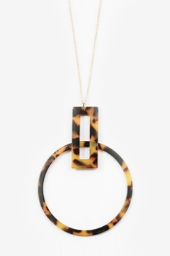 Shoptiques Product: Tortoise Pendant Necklace