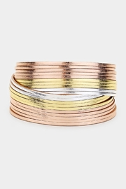 Embellish Tri-Color Magnetic Bracelet - Product Mini Image