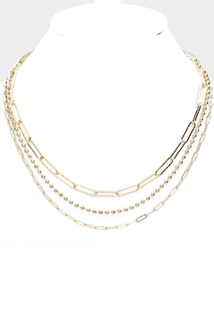 Embellish Triple Links Necklace - Product List Image