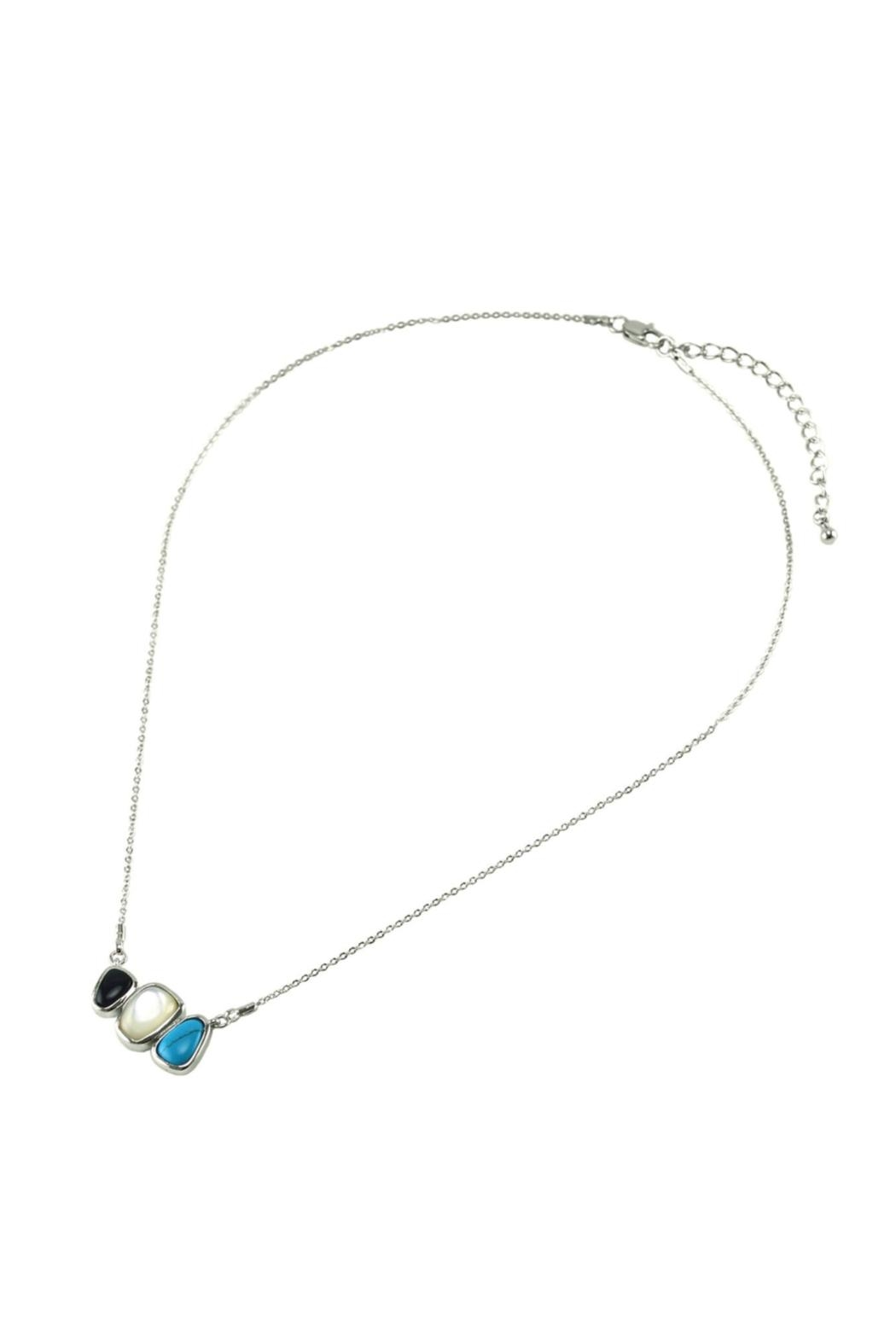 Embellish Triple Play Necklace - Front Full Image