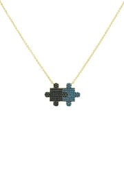 Embellish Turquoise Puzzle Necklace - Product Mini Image