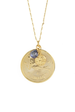 Shoptiques Product: Virgo Zodiac Necklace