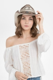 Peter Grimm Embellished Band Hat - Front cropped